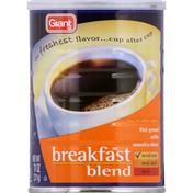 SB Coffee, Rich Ground, Breakfast Blend, Medium