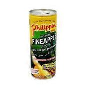 Philippine Brand 100% Pure Unsweetened Pineapple Juice