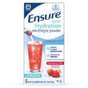 Ensure Rapid Hydration Electrolyte Powder Strawberry Chill