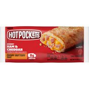 Hot Pockets Ham & Cheddar Frozen Sandwich