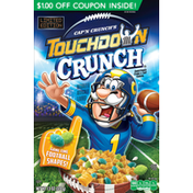 Cap'N Crunch s Touchdown Crunch Sweetened Corn & Oat Cereal