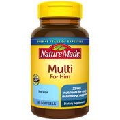 Nature Made Multivitamin For Him Softgels