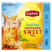 Lipton Iced Tea Southern Sweet Tea K-cups