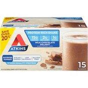 Atkins Milk Chocolate Delight Shakes