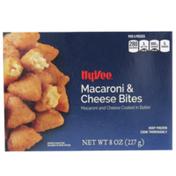 Hy-Vee Macaroni & Cheese Bites Coated In Batter