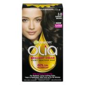Garnier Olia Permanent Hair Color 3.0 Darkest Brown
