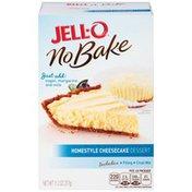 Jell-O Homestyle Cheesecake Dessert Kit with Filling Mix & Crust Mix