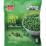 Harris Teeter Peas, Green, Petite