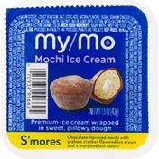My/Mo Mochi Ice Cream, S'mores