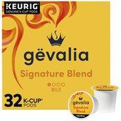 Gevalia Kaffe Signature Blend Arabica Coffee K Cup Pods