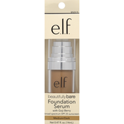 e.l.f. Foundation Serum, with Goji Berry, Medium/Dark, SPF 25