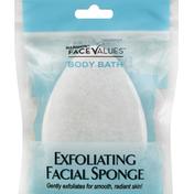 Harmon Face Values Facial Sponge, Exfoliating