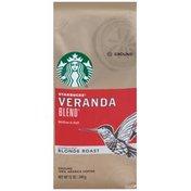 Starbucks Veranda Blend Blonde Roast Ground Coffee
