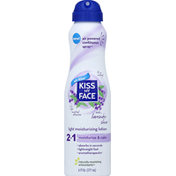 Kiss My Face Moisturizing Lotion, Light, Continuous Spray, Lavender Shea