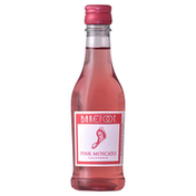 Barefoot Pink Moscato Wine 1 Single Serve Bottle