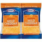 Kraft Mild Cheddar 16 Oz Bags Shredded Cheese