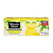 Minute Maid 100% Natural Flavors Lemonade - 10 PK