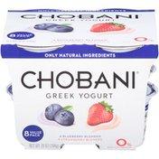 Chobani Blueberry/Strawberry Blended Non-Fat Greek Yogurt