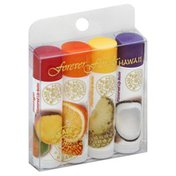 Forever Florals Lip Balm, Flavored, Assorted