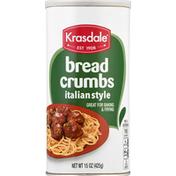Krasdale Bread Crumbs, Italian Style