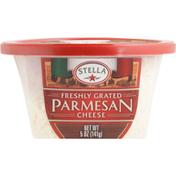 Stella Grated Cheese, Parmesan, Freshly