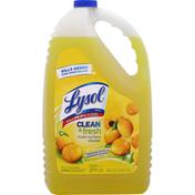 Lysol Cleaner, Multi-Surface, Sparkling Lemon & Sunflower Essence Scent