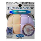 Physicians Formula Mineral Wear Talc-Free Cushion Corrector + Primer Duo 6836 Brightener Primer Peach/Lavender