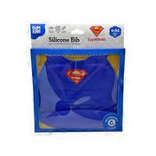 Bumkins DC Comics Superman Silicone Bib