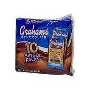 M.Y San Chocolate Graham Crackers Singles