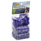 Ruffin' It Pet Waste Bags & Dispenser, Extra Heavy Weight
