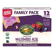 Nature's Path Wildberry Açai Frosted Toaster Pastries