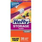 Hefty Quart Storage Bags