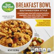 Sun Harvest Breakfast Bowl, Southwestern Style