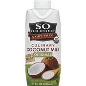 So Delicious Coconut Milk, Culinary, Original