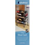 Whitmor Shoe Cart, 5-Tier