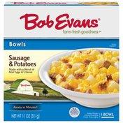 Bob Evans Farms Sausage & Potatoes ID 591 Bowl