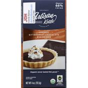 Artisan Kettle Baking Bar, Organic, Bittersweet Chocolate