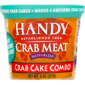 Handy Crab Meat, Pasteurized, Crab Cake Combo