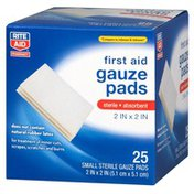 Rite Aid Sterile Pads, All One Size, 25 pads