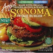 Amy's Veggie Burger, Sonoma
