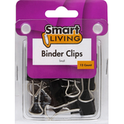 Smart Living Binder Clips, Small