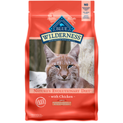 Blue Buffalo Wilderness High Protein, Natural Adult Indoor Hairball & Weight Control Dry Cat Food, Chicken