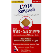 Little Remedies Infant Fever + Pain Reliever