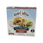 liveGfree Southwest Veggie Gluten Free Stuffed Sandwich