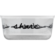 Pyrex Storage Container, Glass, 7 Cup