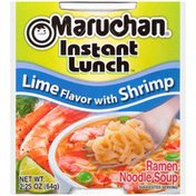 Maruchan Instant Lunch Lime Flavor with Shrimp
