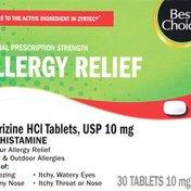 Best Choice Cetirizine TB
