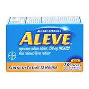 Aleve Pain Reliever/Fever Reducer Gelcaps