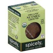 Spicely Organics Nutmeg, Ground, Organic