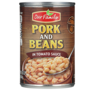 Our Family Pork And Beans In Tomato Sauce